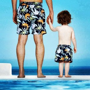 a04996a259 Vilebrequin pool style - like father...like son | Vilebrequin | Swim ...
