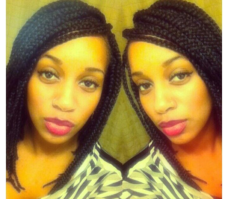 Awesome Box Braids Box Braids Bob And Hairstyles For Black Women On Pinterest Hairstyle Inspiration Daily Dogsangcom