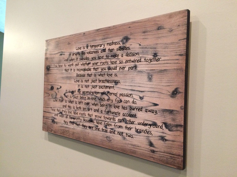 Personalized Wood Wall Art