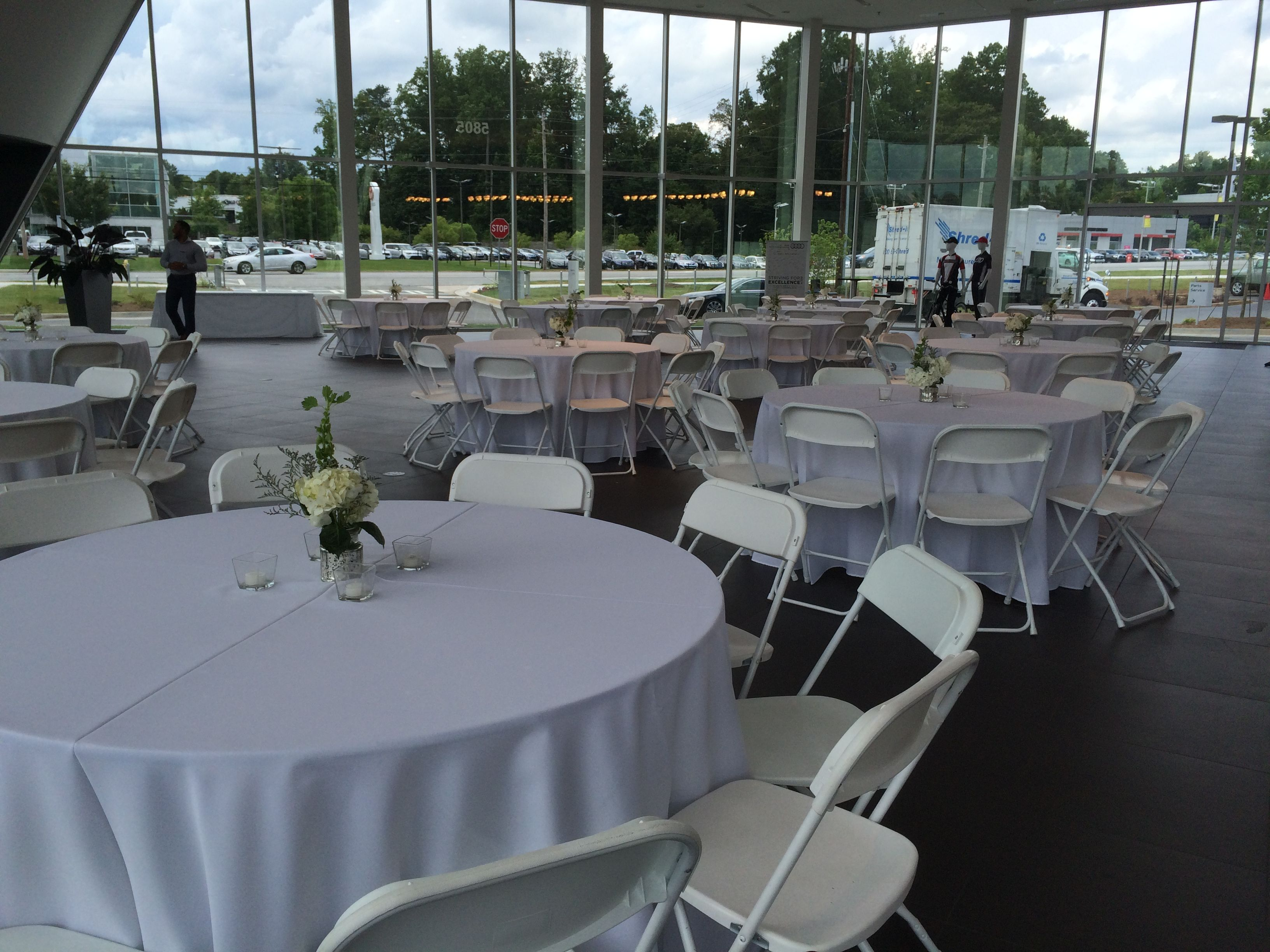 Rental Chairs And Tables White Hercules Chairs And 60