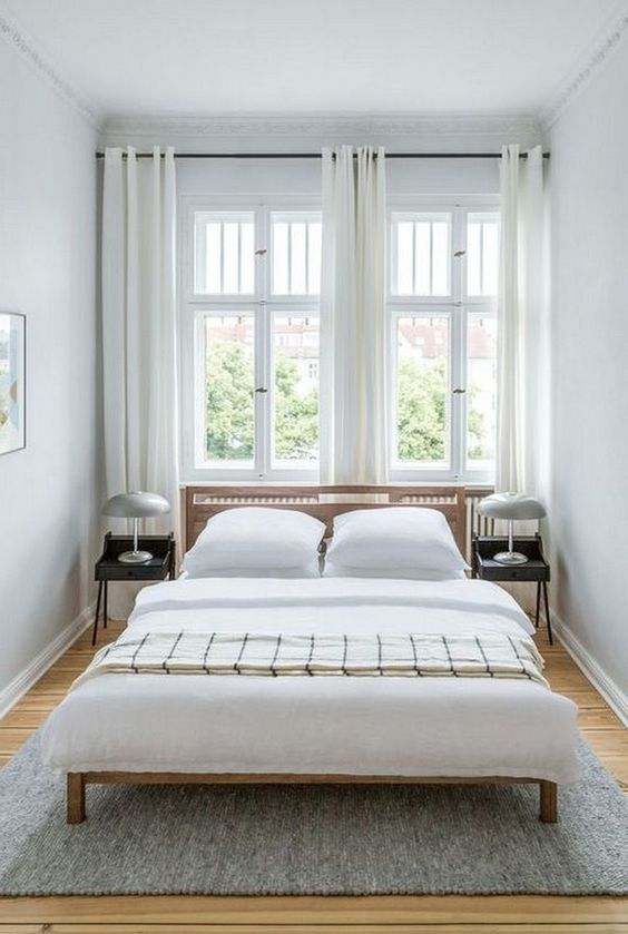 Pin By Lisa On Bedroom Ideas Small Guest Bedroom Simple Bedroom Guest Bedroom Design