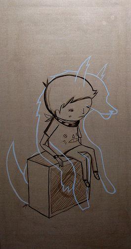 Wolvien (light shard) by ghostpatrol, via Flickr