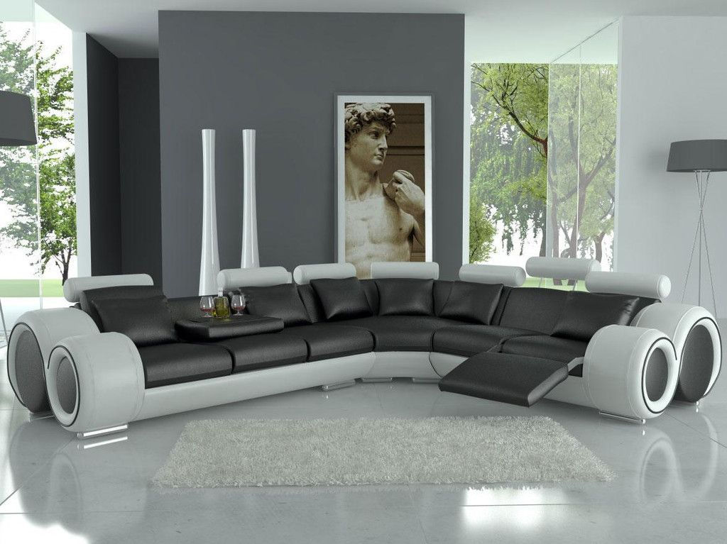 Modern italian design franco sectional sofa everything for Modern italian design