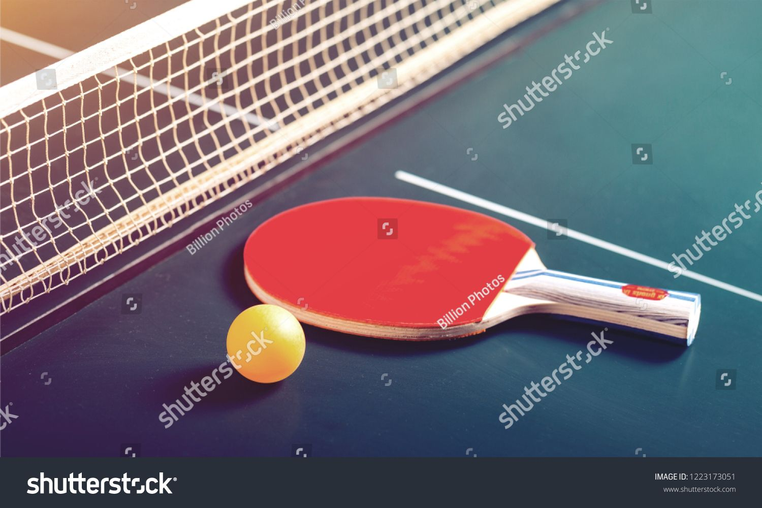 Table Tennis Rackets And Ball On Table Ad Ad Tennis Table Ball Rackets Table Tennis Table Tennis Racket Rackets