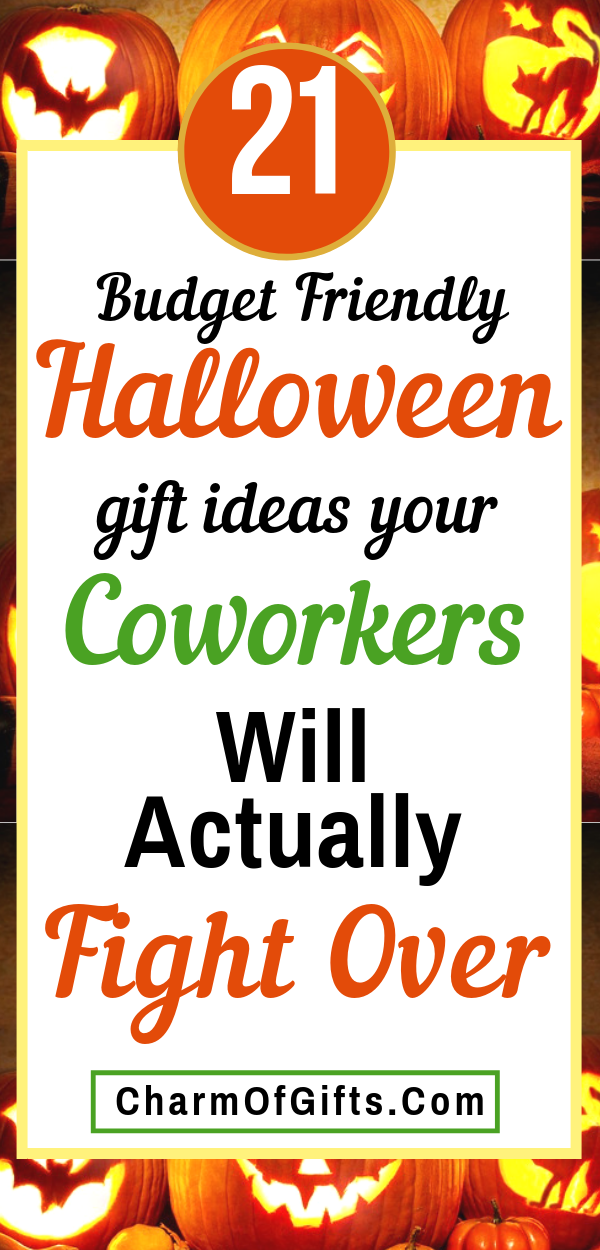 Fun Halloween Gifts For Coworkers That Will Be A BIG Hit