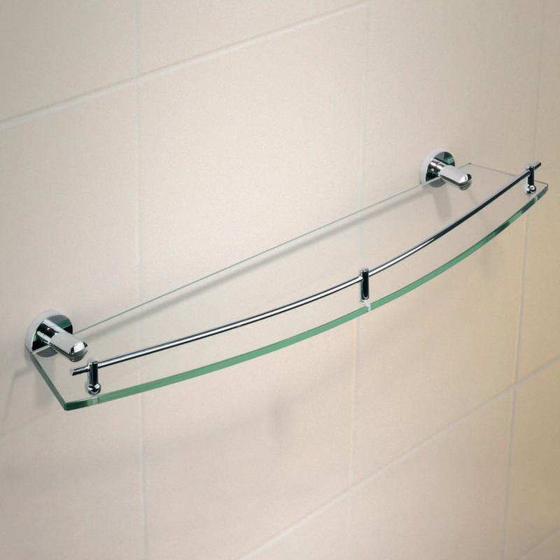 Cosmo Metal Shower Shelf   Single