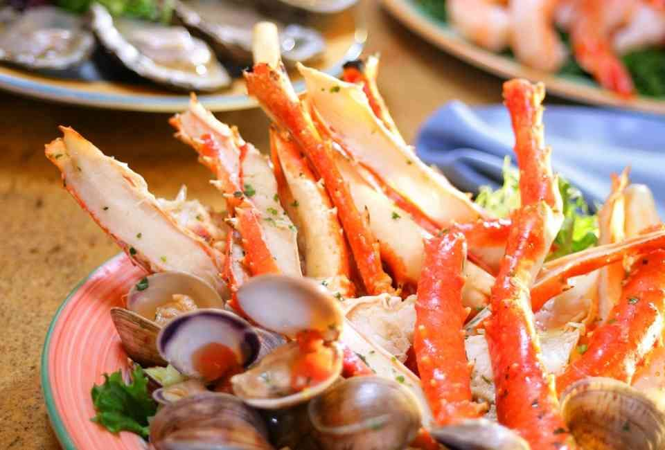 Surprising Fill Up On King Crab Legs At Las Vegas Absolute Best Home Interior And Landscaping Synyenasavecom