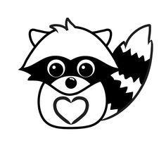 Raccoon Drawing Drawings Cute Raccoon
