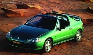 Green Honda Del Sol