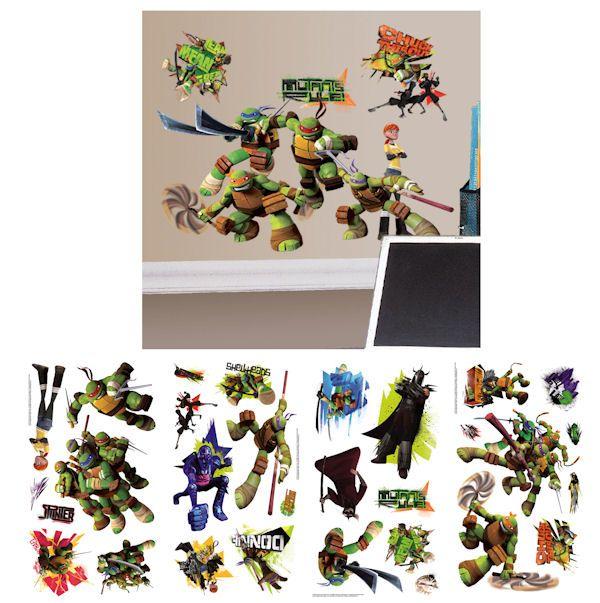 Teenage Mutant Ninja Turtles Wall Decals Wall Sticker Outlet - Ninja turtle wall decals