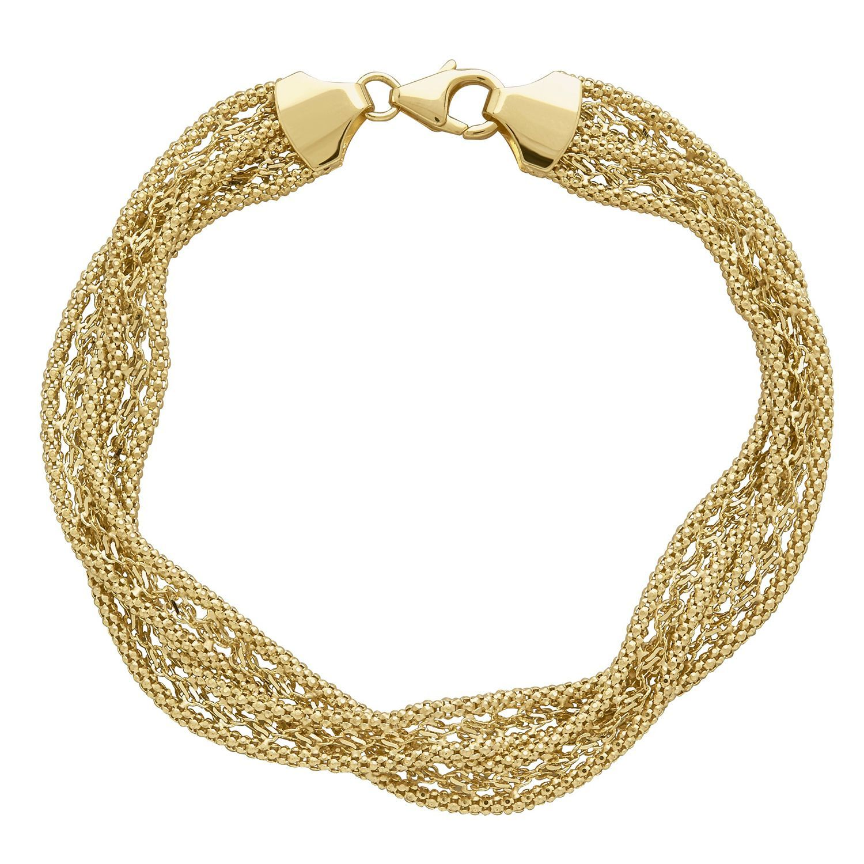 Gold Twist Bracelet Sam S Club Mayisgoldmonth Karatgold