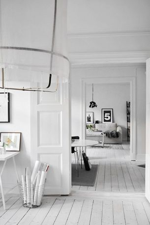 All white interiors, if I didn't have a ...