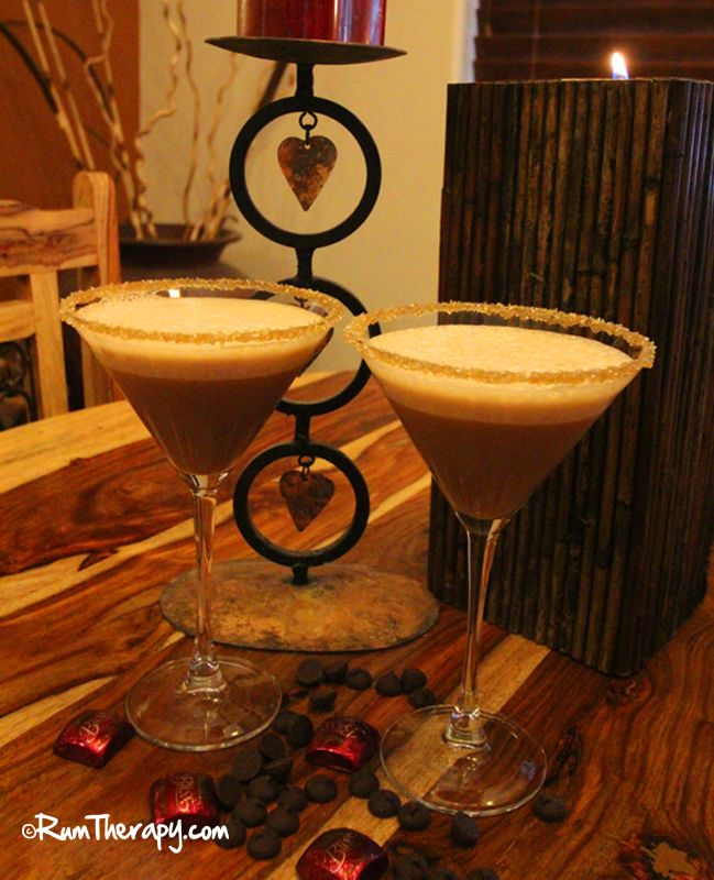 """Looking for a """"Rum""""antic Valentine's Day Cocktail to make for that special someone? How about a Caribbean Kiss? Between the Sheets?? Or...Love Potion #9! Click for the recipes!"""