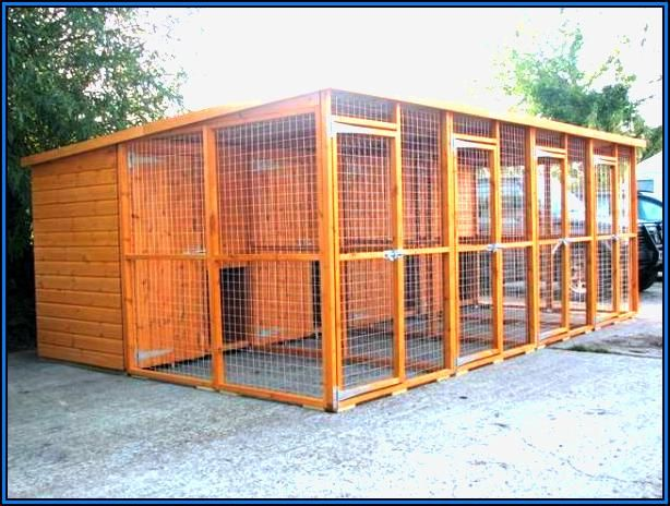 large dog kennel plans - Dog Kennel Design Ideas