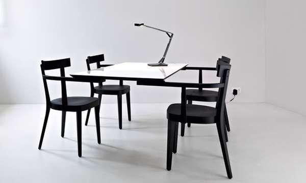 Legitimately Legless Tables Floating Table Table Furniture Furniture Design