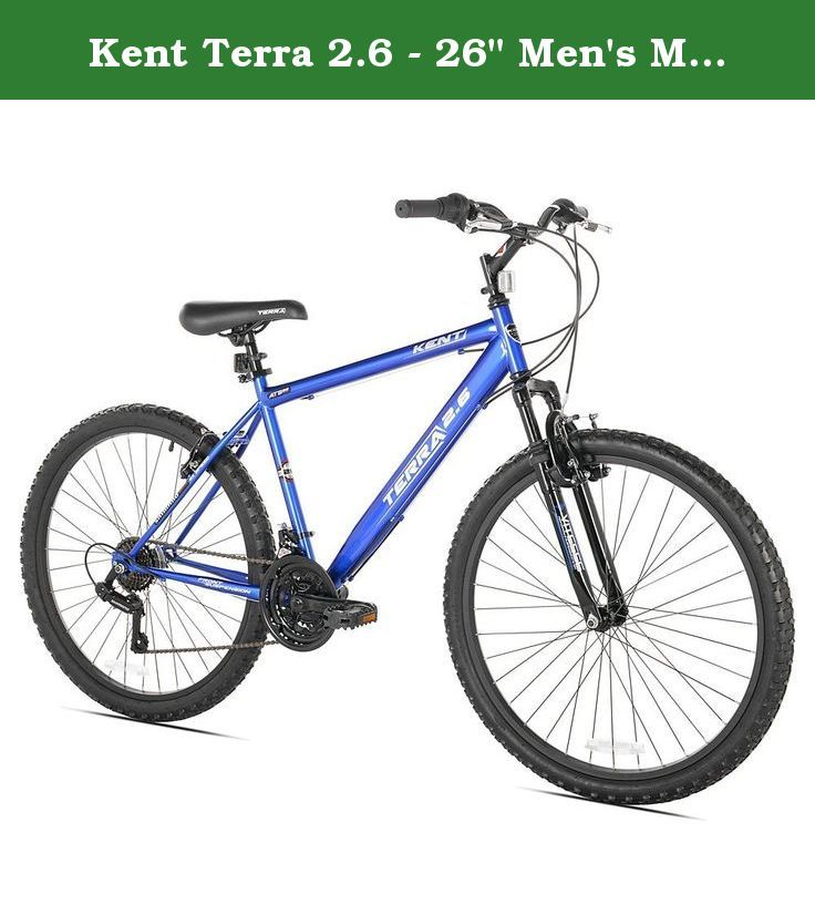 Kent Terra 2 6 26 Men S Mountain Bike 21 Speed Blue Kent