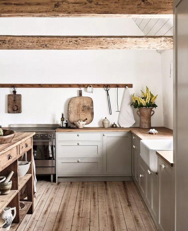 Photo of Une cuisine comme dans une maison de campagne | Shake My Blog