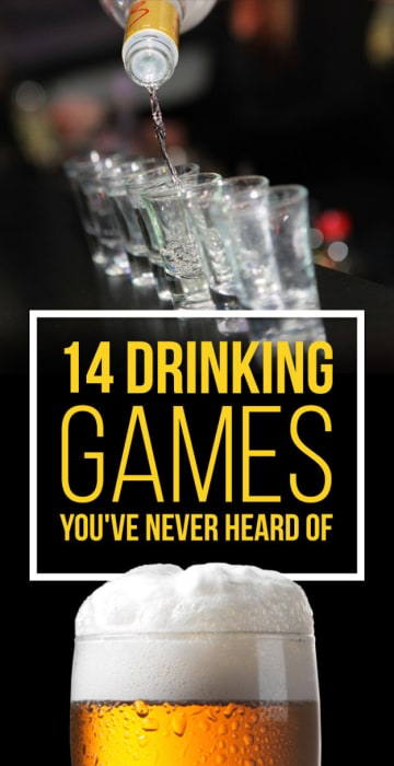 14 Incredibly Fun Drinking Games You've Never Heard Of