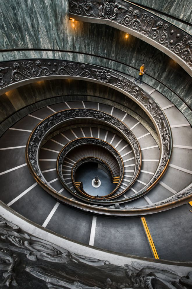Best Spiral Staircase Vatican Rome Italy Furkl Com 640 x 480