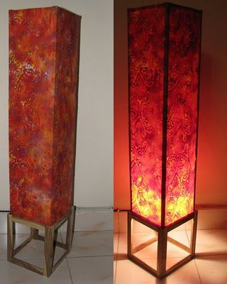 Pin By Annie Moss On Home Diy Floor Lamp Fabric Floor Lamp Floor Lamp Shades