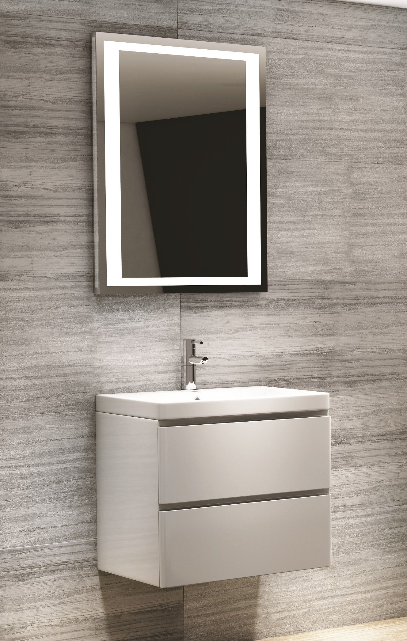 Image result for wall sinks with cupboard bathrooms in