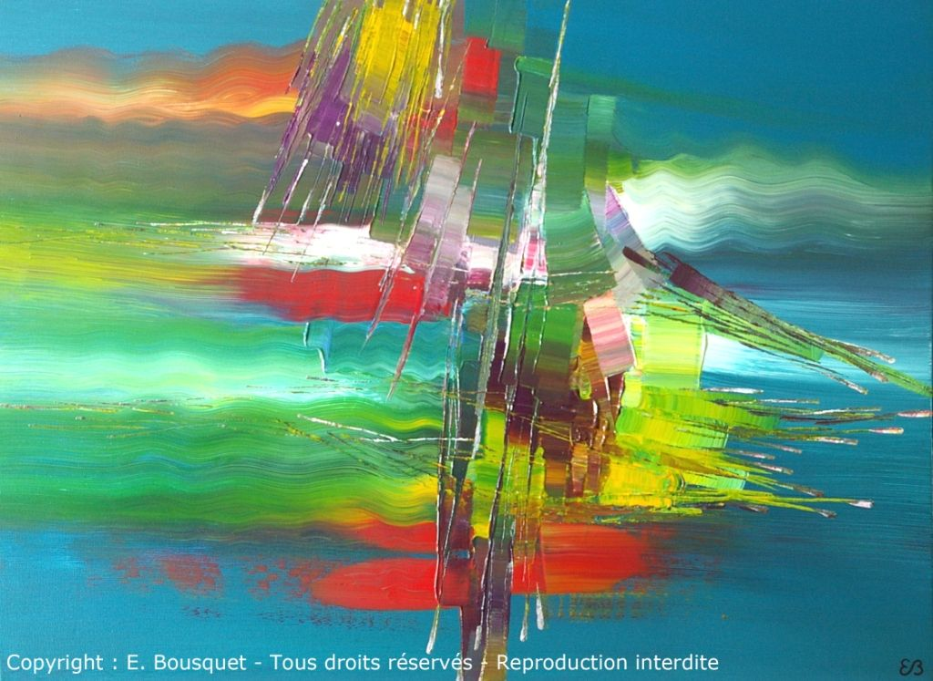 """Embarquement pour Kou Chee"" / ""Sailing To Koo Chee"" (C) Eliora Bousquet"