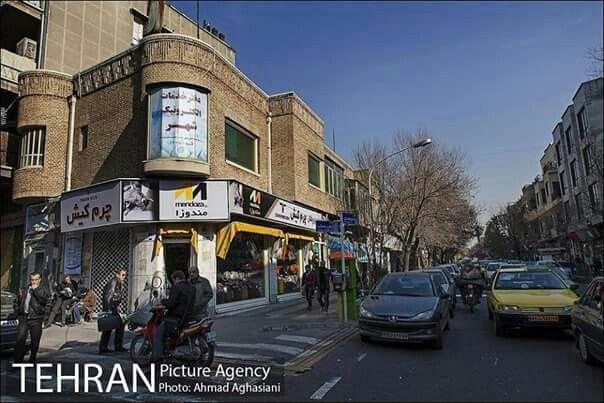 Tehran's popular streets