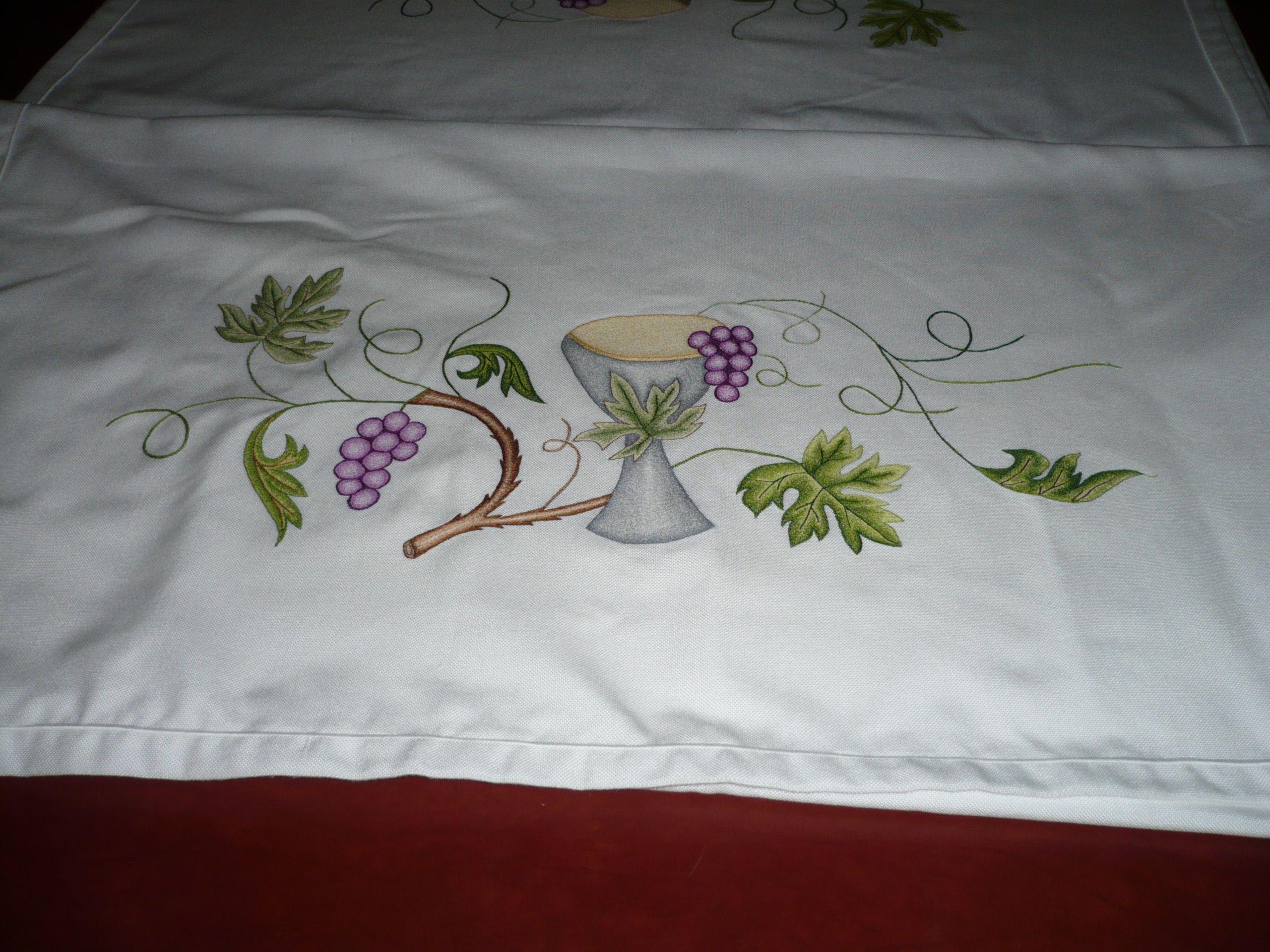Dibujos para manteles de iglesia buscar con google - Manteles de mesa bordados ...