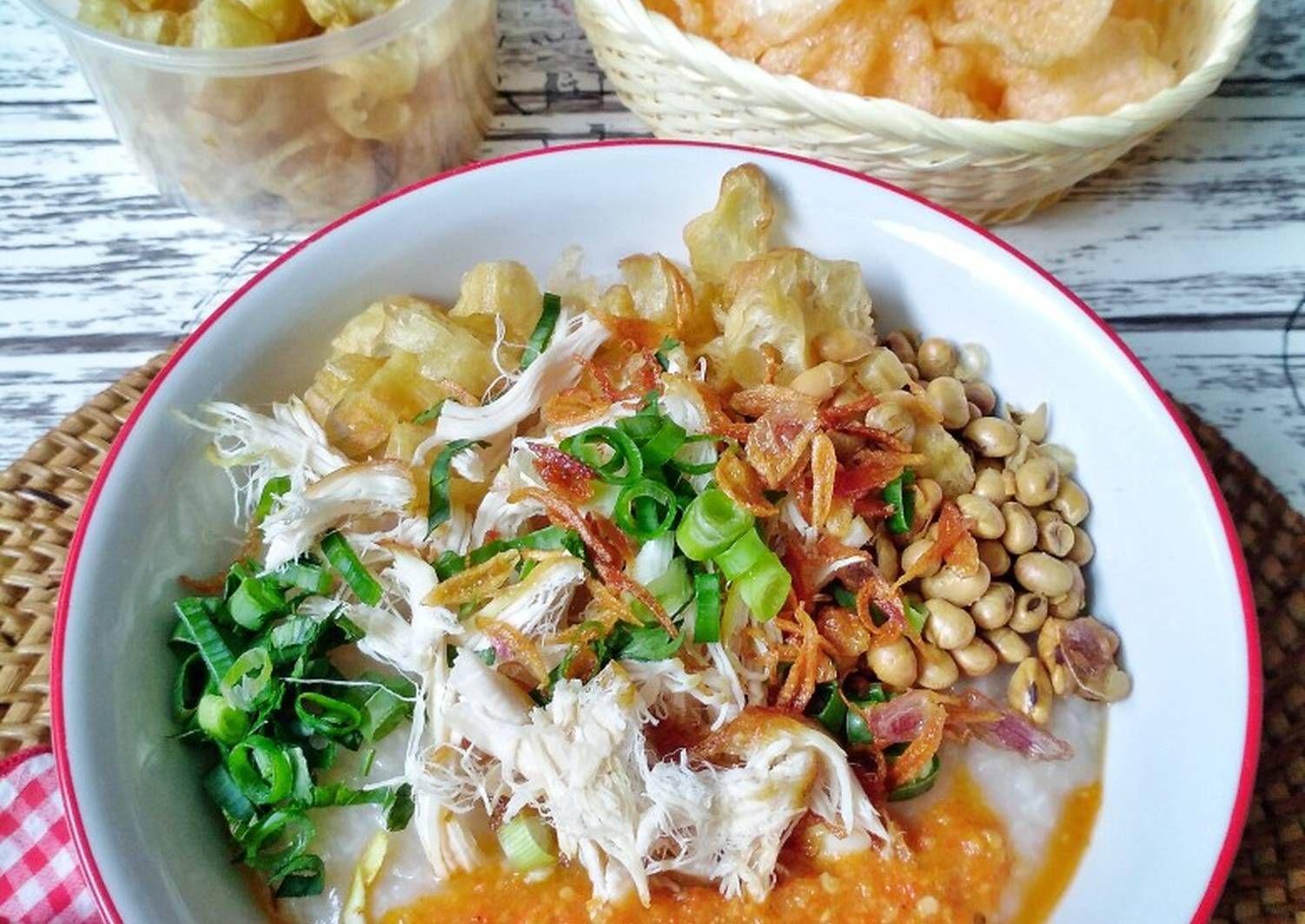 Resep Bubur Ayam Oleh Susan Mellyani Resep Di 2020 Memasak Makanan Resep