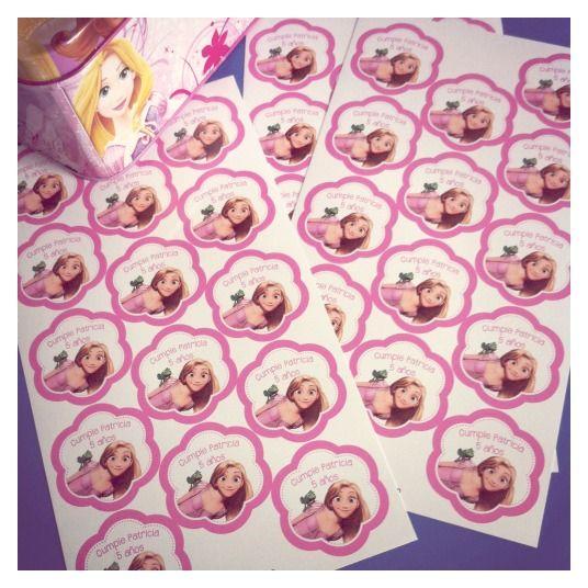 #etiquetas cumple #etiquetasprincesas #princesas