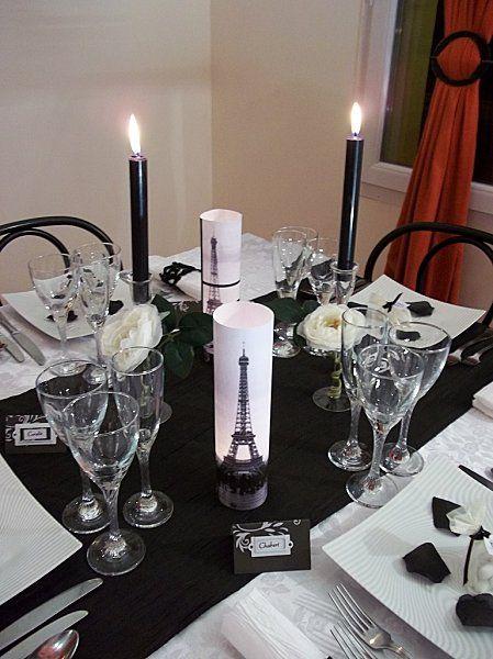 décoration de table thème Paris 12 | My dream wedding | Pinterest ...