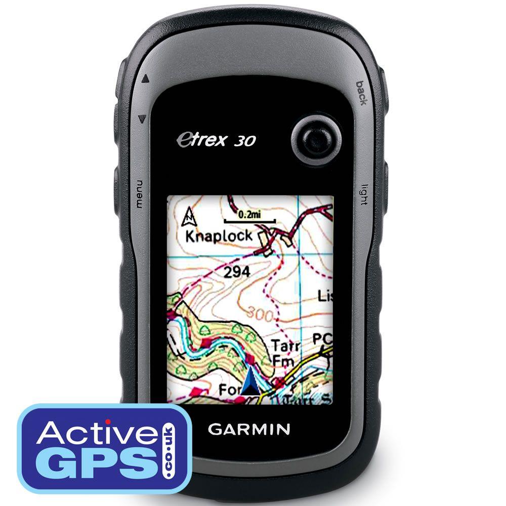 Garmin eTrex 30 handheld/outdoor GPS device with 2.2inch