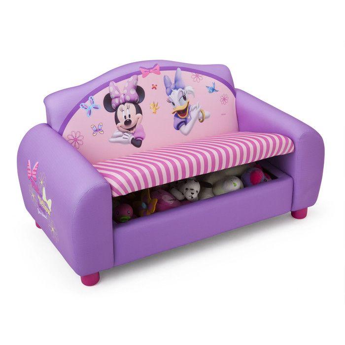 Delta Children Disney Minnie Mouse Kids Sofa Minnie Mouse