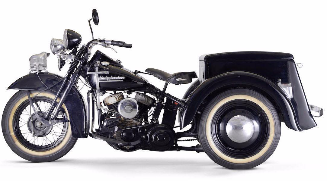 1952 Harleydavidson 739cc Servicar: Harley Trike Exhaust At Woreks.co