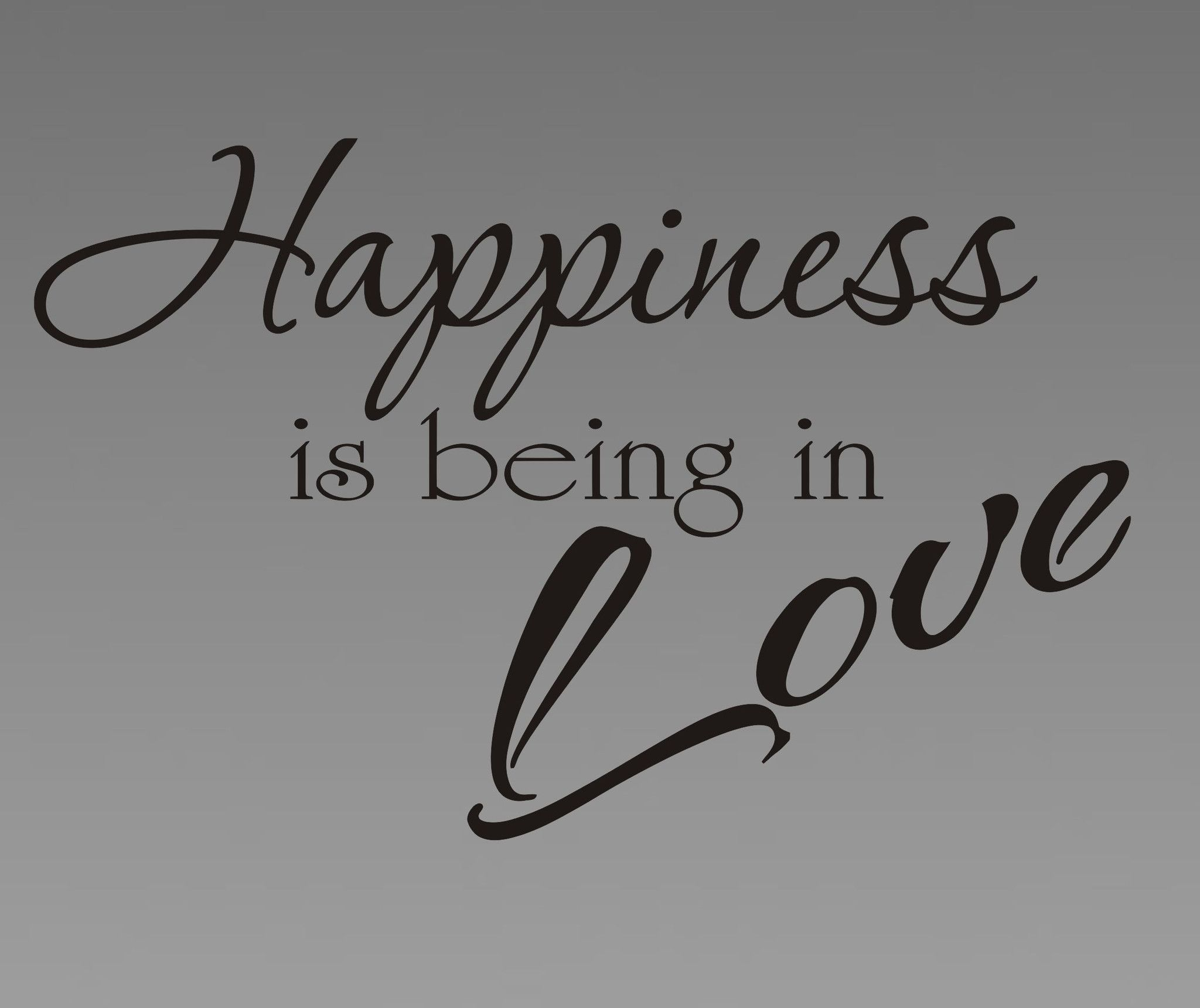 Love ... what is this Happiness or tragedy