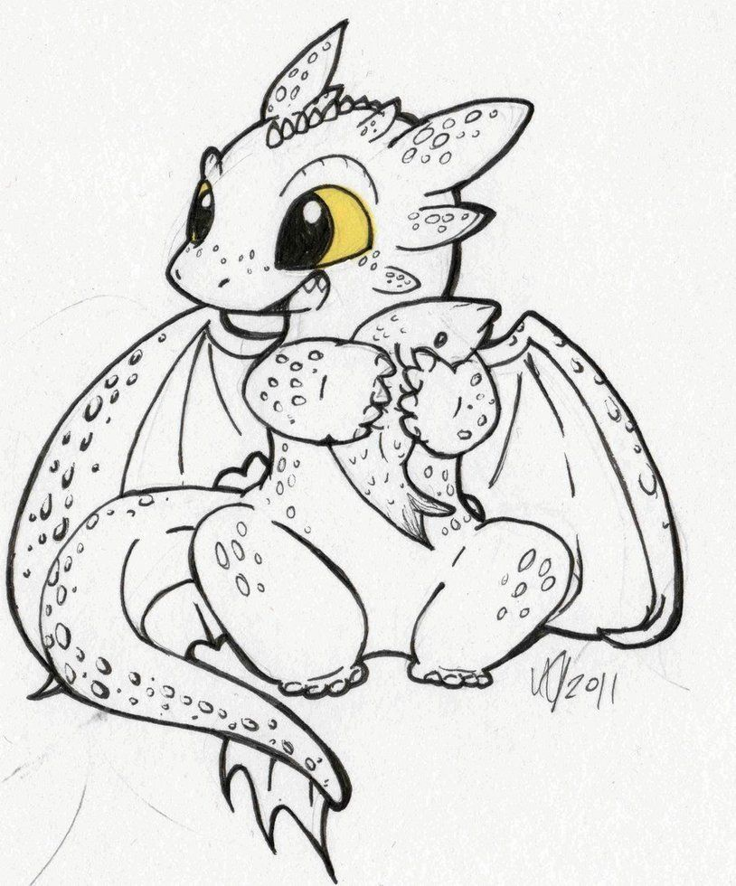 Printable coloring pages dragons - How To Train Your Baby Dragon Coloring Pages To Print For Kids
