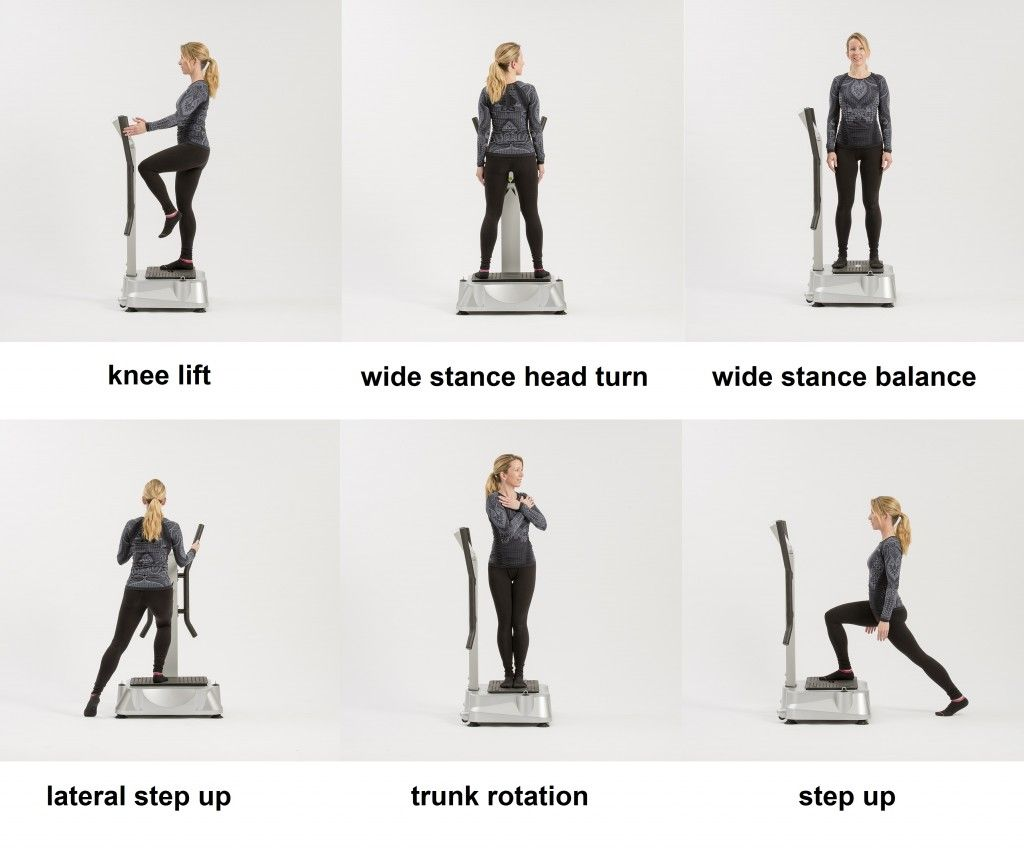 Balance Wbv Exercises For Seniors For The Elderly