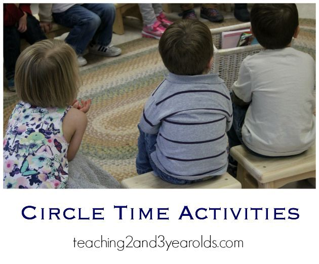 Circle Time Activities Teaching 2 And 3 Year Olds