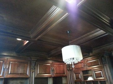 Library Ceiling Design | Library Reading Rooms / Coffer ...