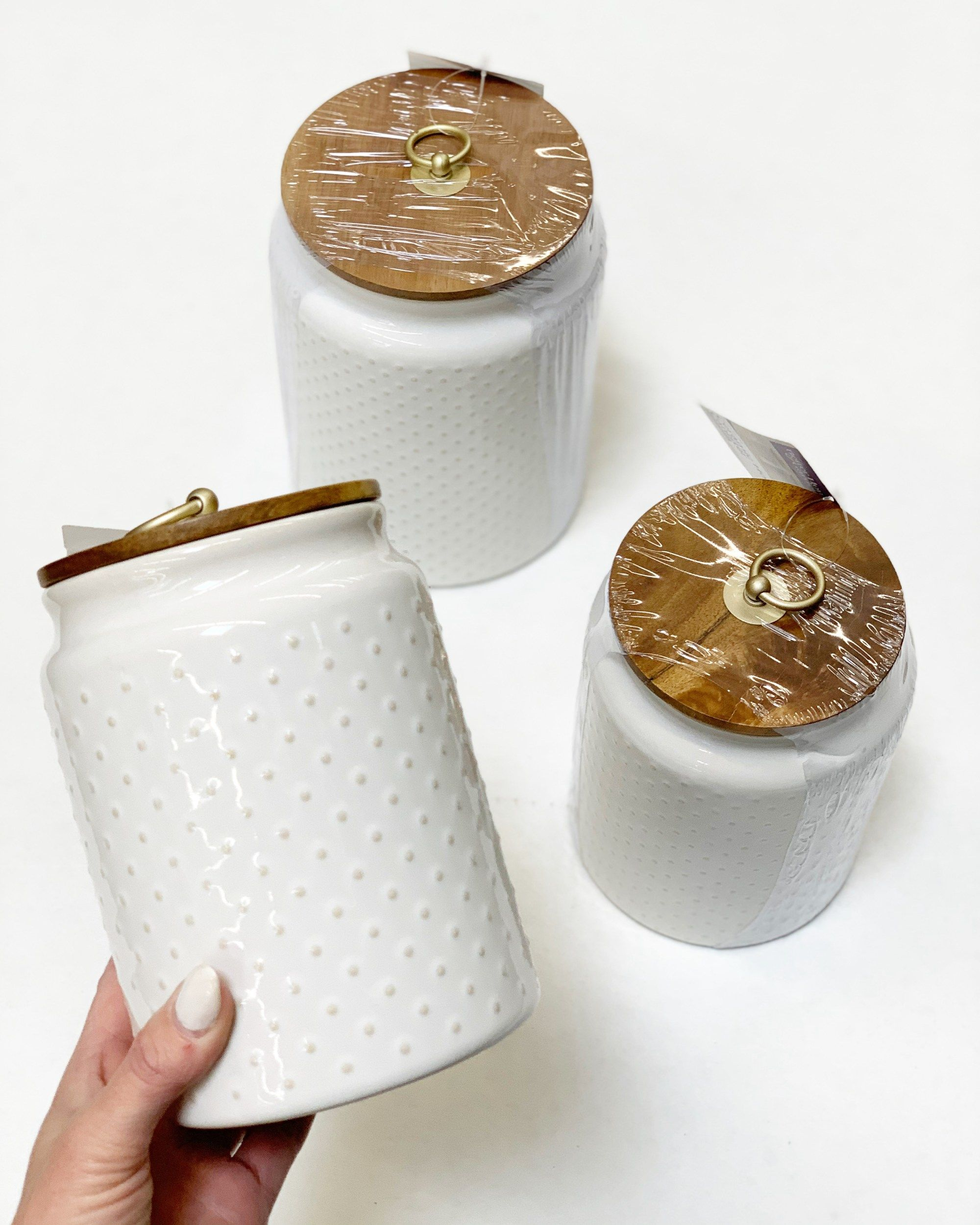 Better Homes And Gardens Hobnail Canisters Walmart Finds Walmart Finds Walmart Home Walmart Home Decor