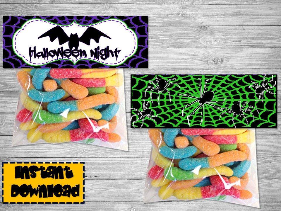 Halloween Decorations - Halloween Bag -Halloween Party -Halloween - decorate halloween bags