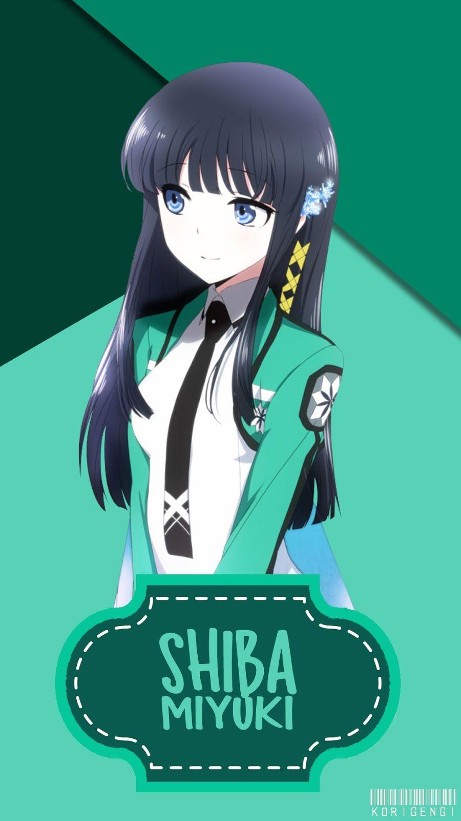 Shiba Miyuki V2 Gadis Anime Kawaii Karakter Animasi Manga Anime
