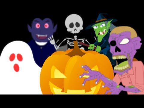 kids toy garage | scary gifts | halloween video for kids ...