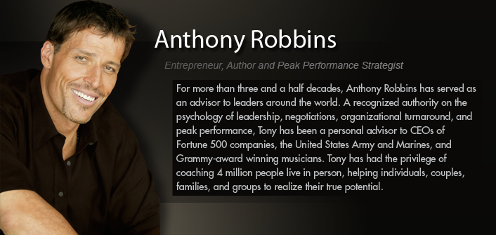 In this short clip from our recent business mastery las for Tony robbins tattoo
