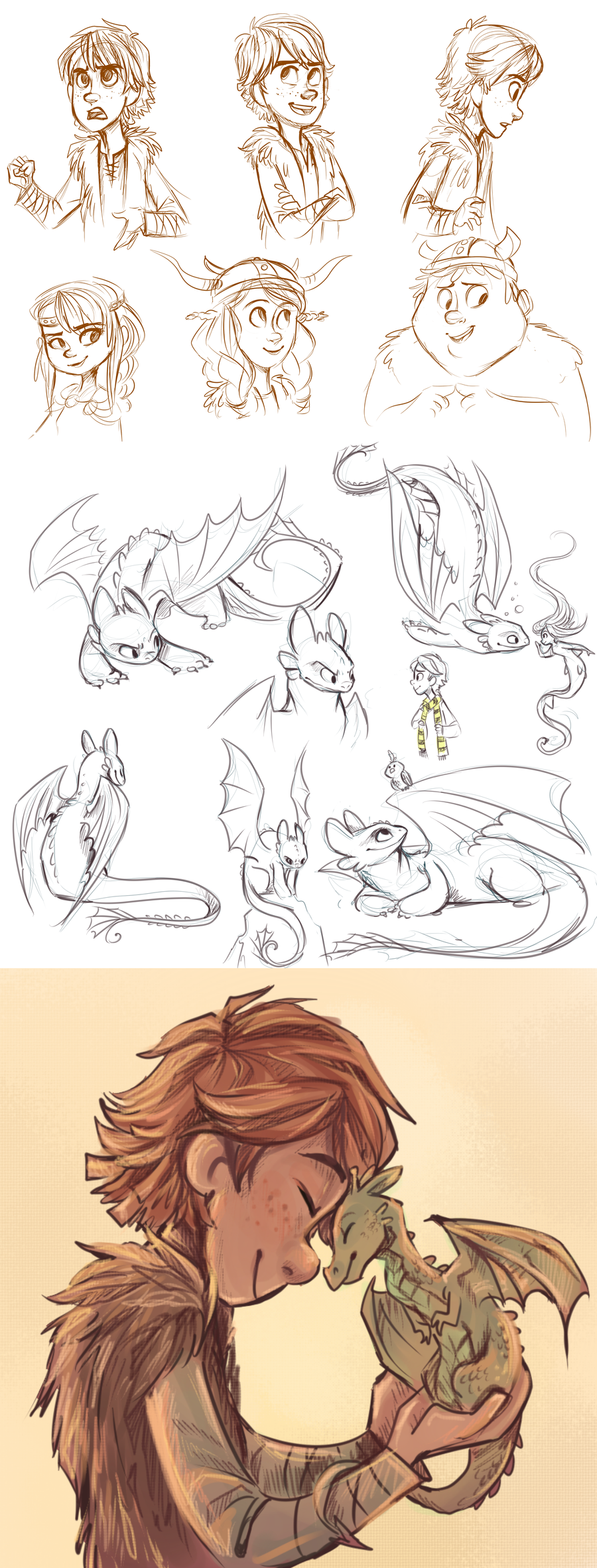 Some How To Train Your Dragon Fan Art By Sharpie91iantart