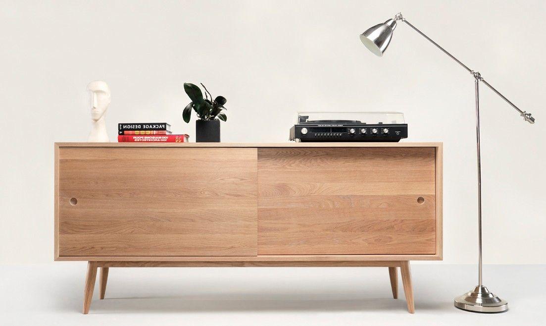 La Credenza Muebles : Aparador nórdico oak en Ámbar muebles mi oficina