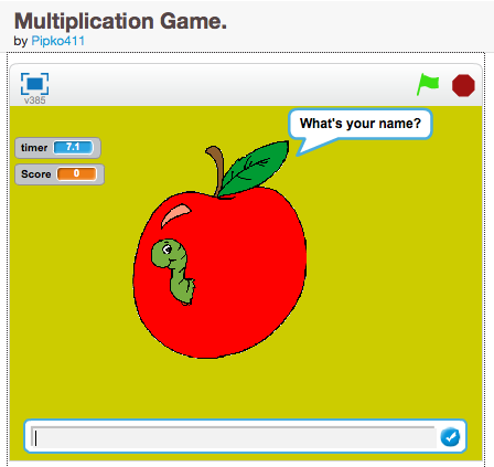 how to make a simple game in scratch