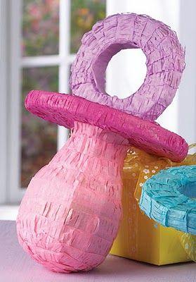 Decoracion para baby shower chupones para baby shower for Decoracion para pinatas