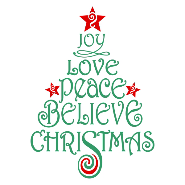 Believe Christmas Svg Cuttable Design Christmas svg