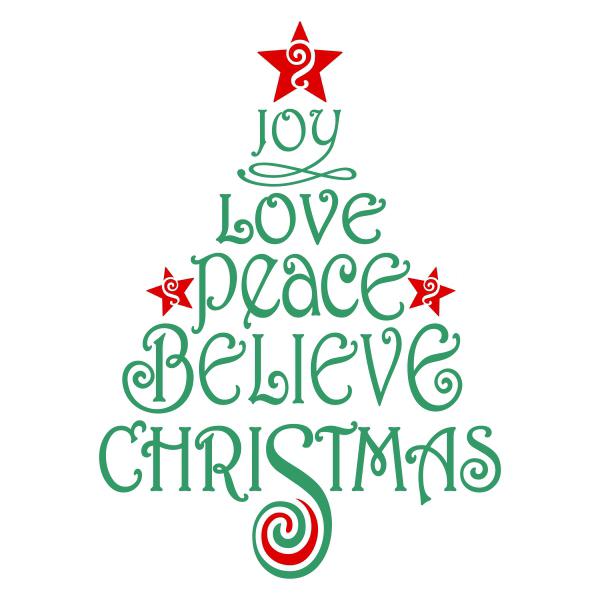 Download Believe Christmas Svg Cuttable Design | Christmas svg ...